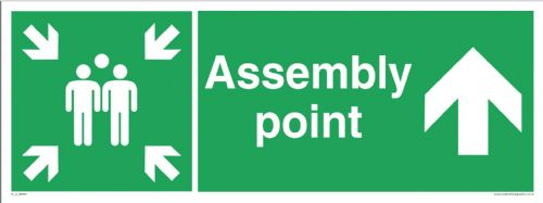 Fire assembly point - up